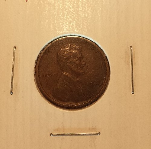 1909 Lincoln Wheat Cent EF40