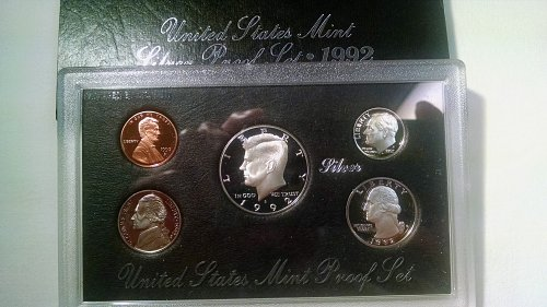 1992 S Proof Sets : Silver