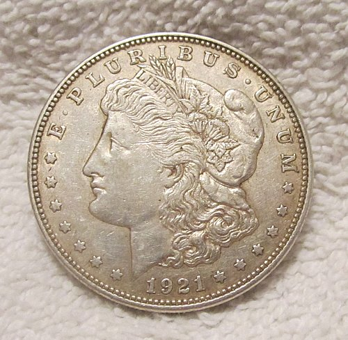 1921-D Morgan Silver Dollar,  NICE!!!