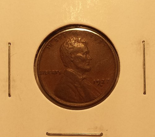 1927-D Lincoln Wheat Cent VF20