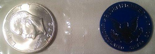 1972 S Eisenhower Dollars: Silver Clad