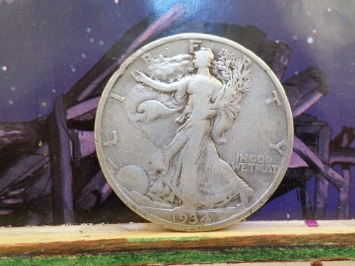 1934P VG-6 WALKING LIBERTY HALF DOLLAR