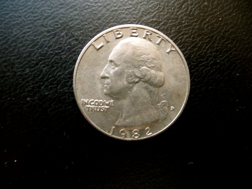 1982-D WASHINGTON QUARTER