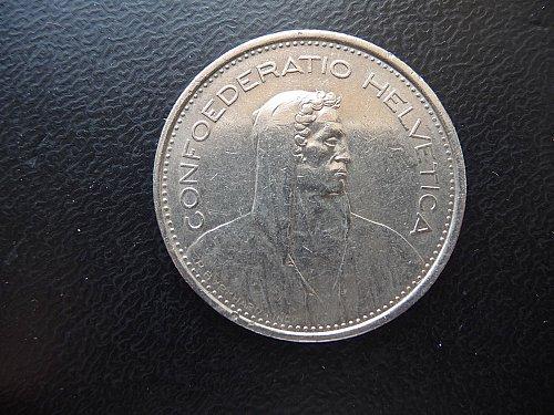 1968 B   5 Francs