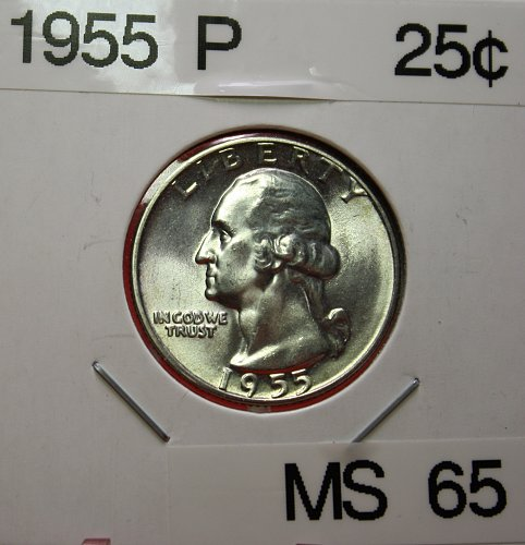 1955 Washington Quarter