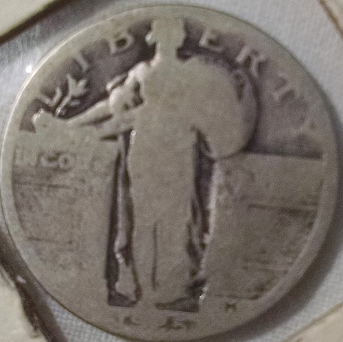 1925 P Standing Liberty Quarters