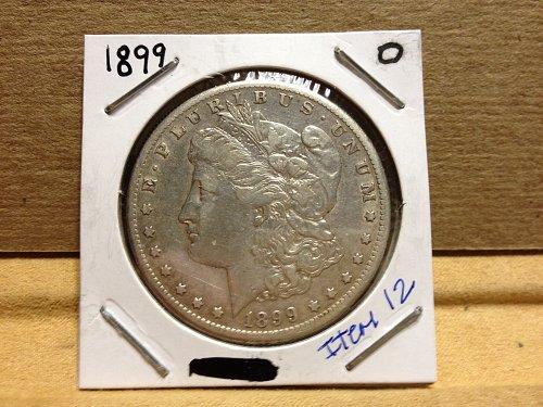 1899 0 Morgan Dollar item 12