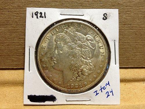 1921 S Morgan Dollar item24