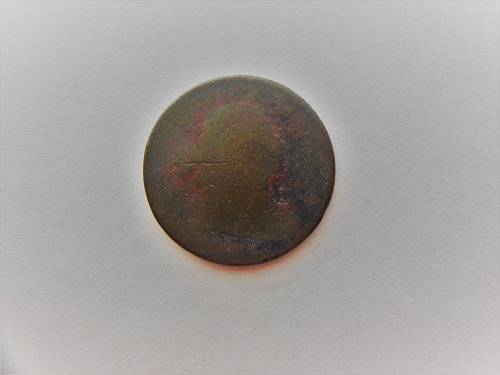 1802 Draped Bust Large Cent.