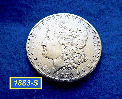 1883-S Morgan Silver Dollar ★  Circulated ★   (#5408)a