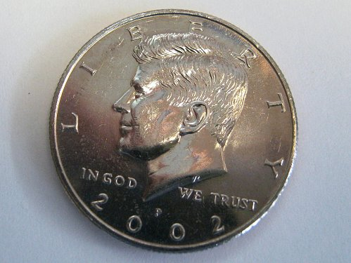 THE FIRST OF A COLLECTORS ONLY ...EDITION COIN......2002 P..........
