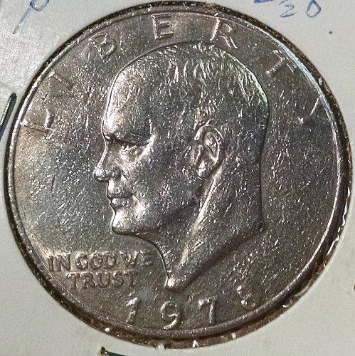 1978 P Eisenhower Dollars