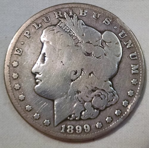 1899 S Morgan Dollar