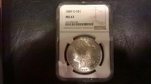 1889-O Morgan Dollar NGC MS63