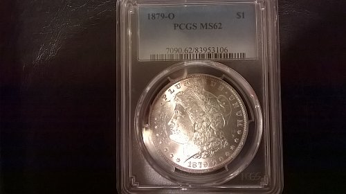 1879-O Morgan Dollar PCGS MS62