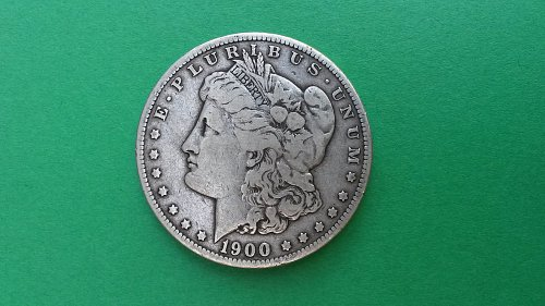 1900 O/CC Morgan Silver Dollar