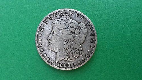 1900 O/CC Morgan Silver Dollar