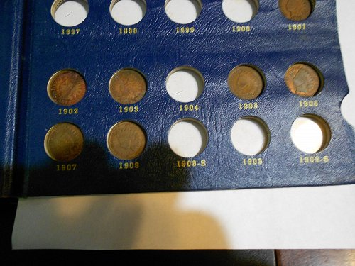 1859-1909 Indian Head Cent    14 Coin Lot