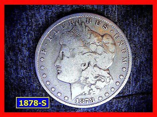 1978-S Morgan Silver Dollar ☆  very Circulated ☆   (#5325a)