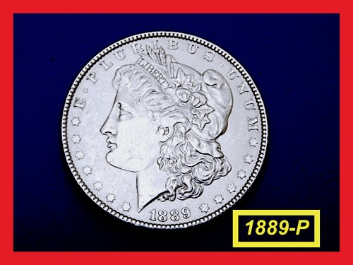 1889-P Morgan Silver Dollar ☆  very Circulated ☆   (#5391)