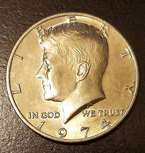 1974 Kennedy Half Dollar (7430)