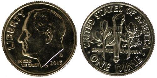 2013 P and D unc dimes