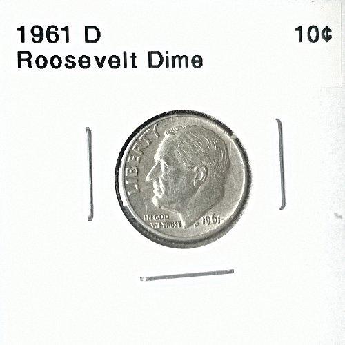 1961 D Roosevelt Dime - 6 Photos!