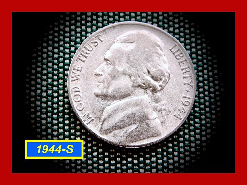 1944-S SILVER WAR NICKEL    (#6294)