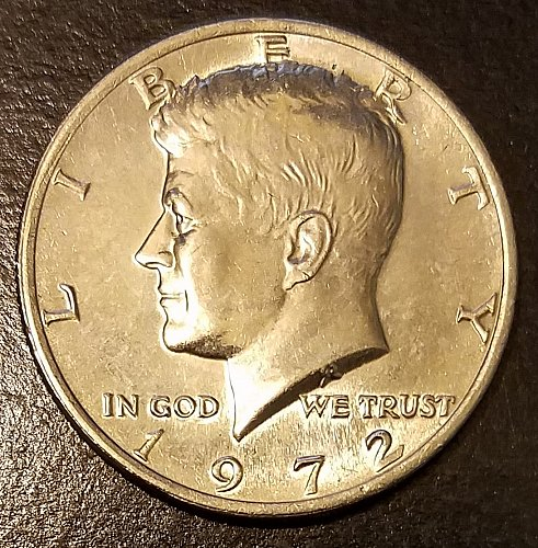 1972 Kennedy Half Dollar (7440)