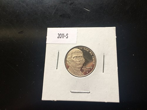 2011 S GEM PROOF JEFFERSON NICKEL
