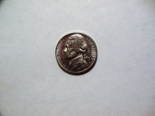 1966-P Jefferson Nickel