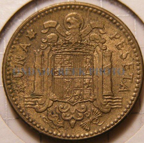 Spain 1947 (51) Peseta Rare Choice AU+