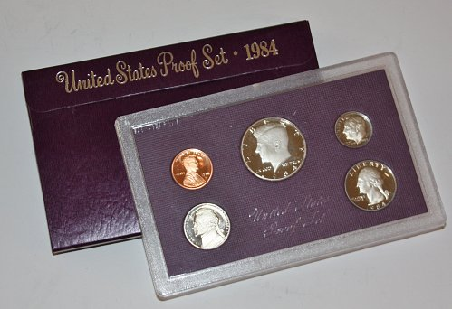 COLLECTIBLE 1984 S PROOF COIN SET.....
