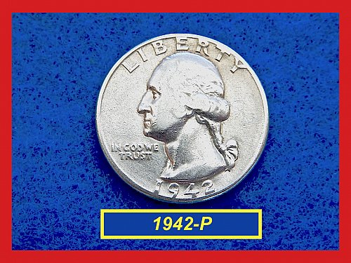 1942-P Washington  Quarter •   (#2830)