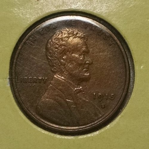 1915 S Lincoln Wheat Cent