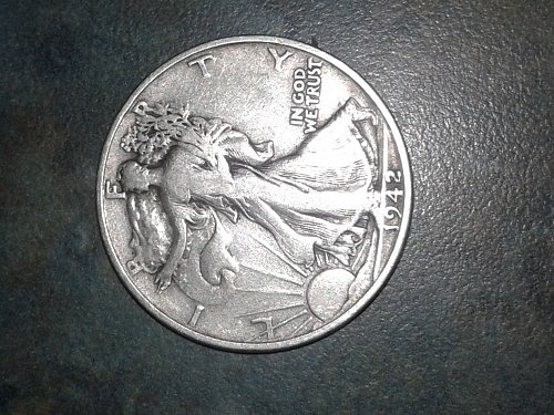 1942-s silver walking half dollars