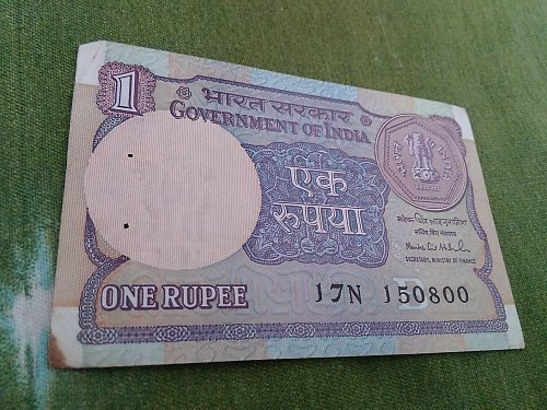 150800...1992..1.. Rupee used note