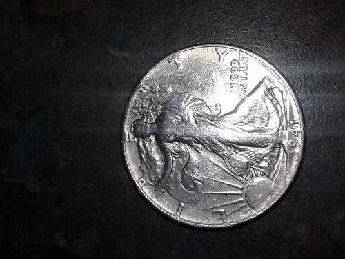 1941 #2 walking half dollar