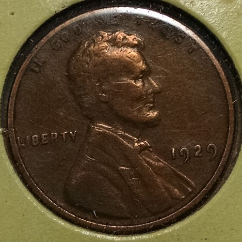 1929 P Lincoln Wheat Cent
