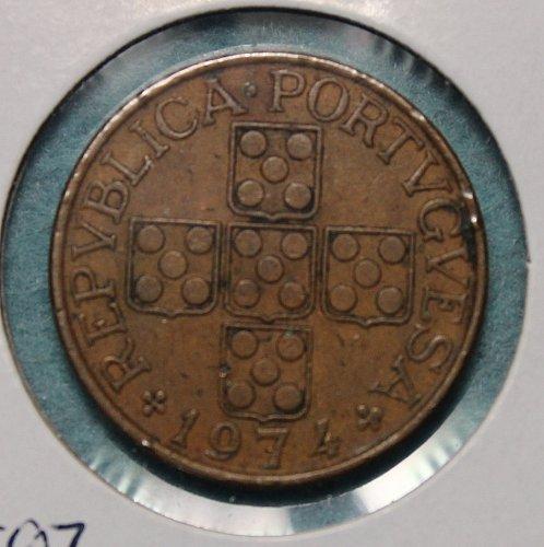 Portugal 1974 1 Escudo