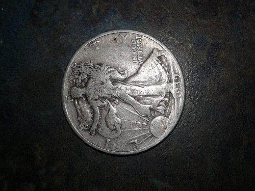 1939-p walking half dollar #22