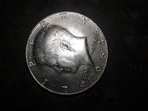 1964-p silver half dollar #333