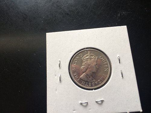 2003 BELIZE .25 UNCIRCULATED COIN.