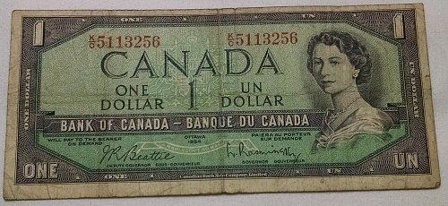 UN 1 ONE DOLLAR CANADA