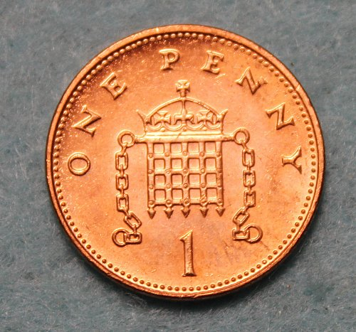 Great Britain 1999 1 penny