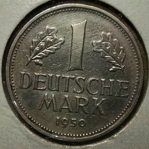 Germany Federal Republic 1950D  Mark