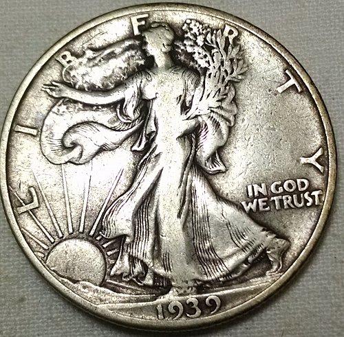 1939 P Walking Liberty Half Dollar
