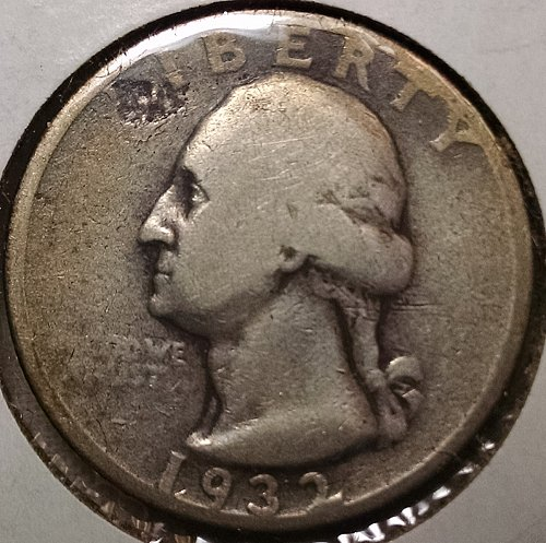 1932 P Washington Quarter