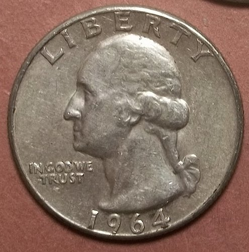 1964p Washington Quarter Lot JQbb41