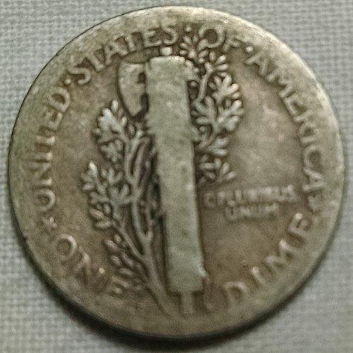1918 D Mercury Dime